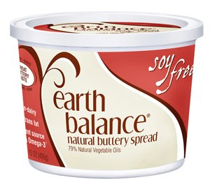 The new soy-free Earth Balance buttery spread.