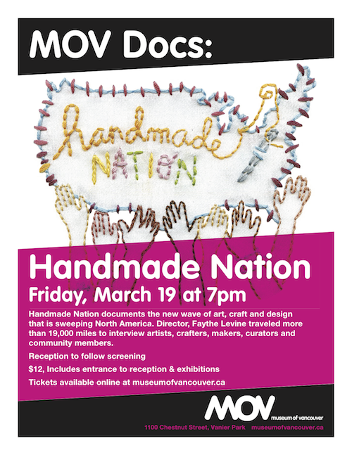 MOV Docs: Handmade Nation