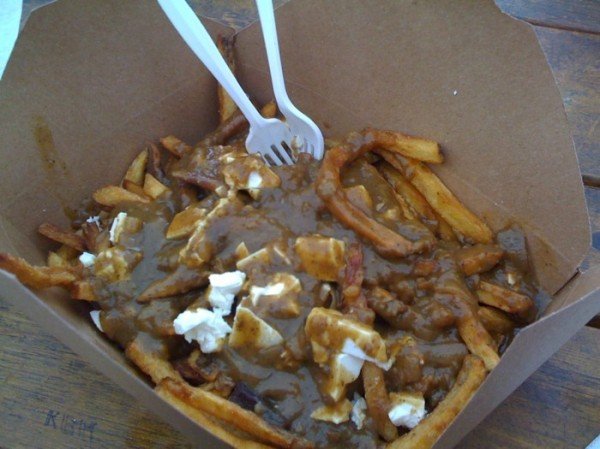 Double vegan poutine from Potato Champion