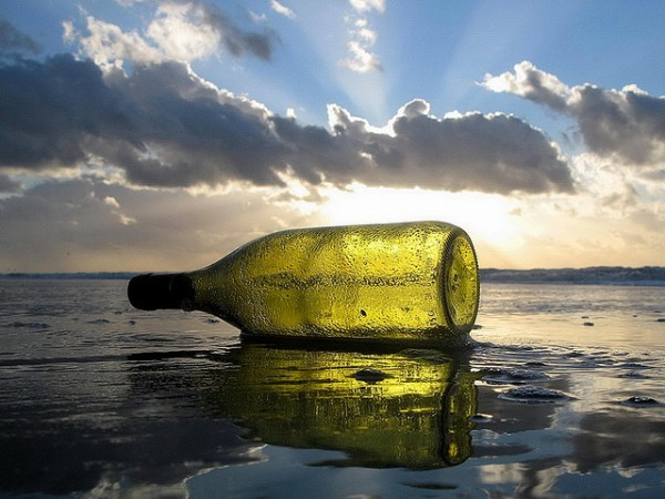 """Message in a Bottle"" by Kraftwerck on Flickr (CC-A liscenced)"