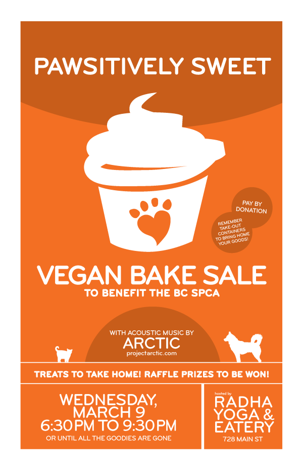 Pawsitively Sweet Bake Sale - Vancouver March 2011