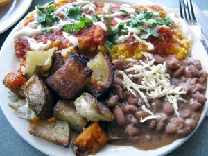 Veganized Huevas Rancheras - Bandidas Taqeria