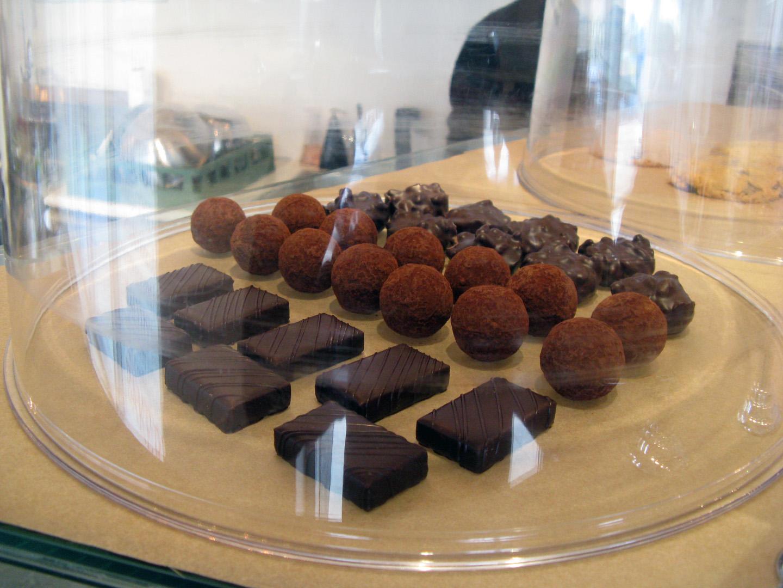 Edible Flours chocolates by Chocolate Arts