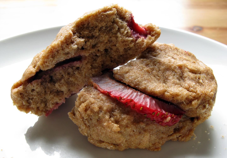 Strawberry scone (not gluten free)